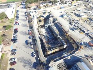 The latest progress at Walcrest.