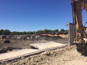 Reservoir demolition, 040416