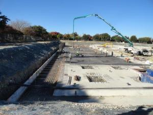 The latest progress at the Walcrest site.