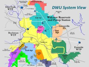 The Walcrest Pump Station and Reservoir will serve a large area of North Dallas.