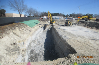 0202016_Excavation-for-the-new-pump-station-in-the-north-parking-lot