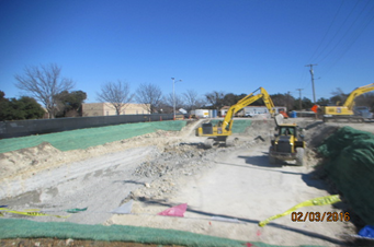 02032016_Continued-excavation-for-the-new-pump-station-getting-into-the-limestone