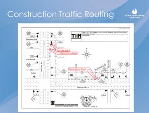 Construction Traffic Plan Beginning December 14, 2015